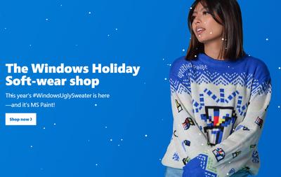 Tässäkö joulun mauttomin villapusero? Microsoftin Paint-neuleen myynnillä halutaan...