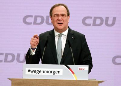 Angela Merkeliä: CDU:n johtoon nouseva Armin Laschet on eurooppalainen,...