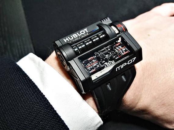 Kello se on. Hublot MP-07 on lievästi sanottuna erikoinen rannekello. 049ff8a72a