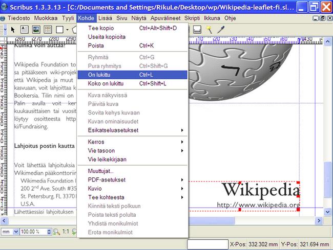 Vapise Adobe InDesign ja Microsoft Publisher – Scribus 1 4 3 | Tivi