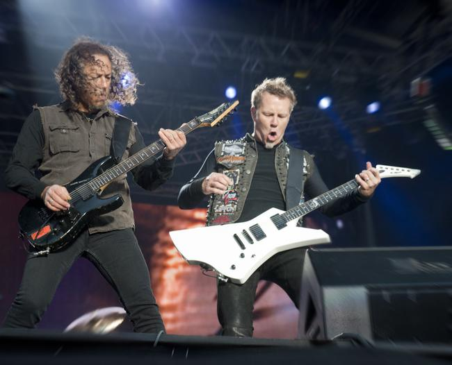 Metallica Jäsenet