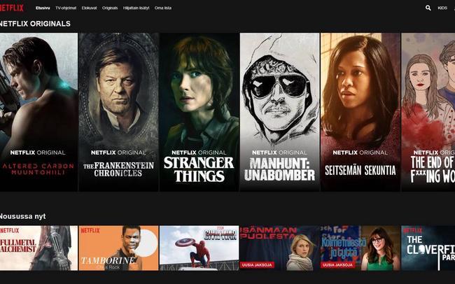 Netflix porno elokuva