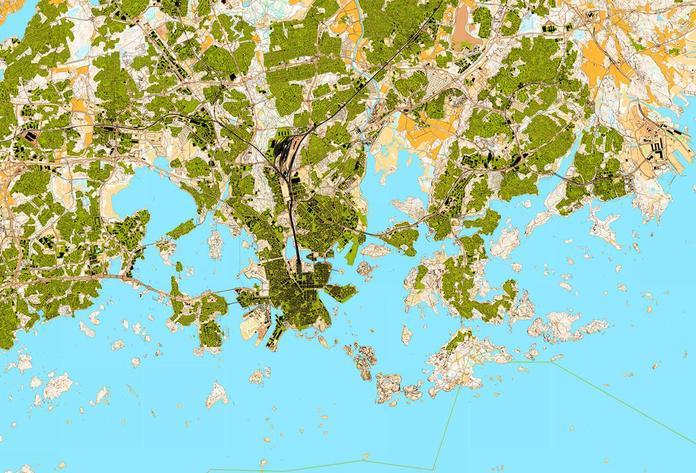 Satelliittikartta