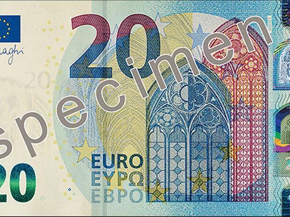 20 Euron Seteli