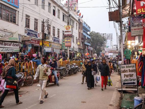 Intian Väkiluku