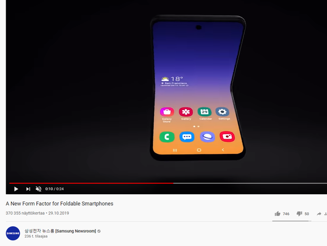 Ruutukaappaus Samsung