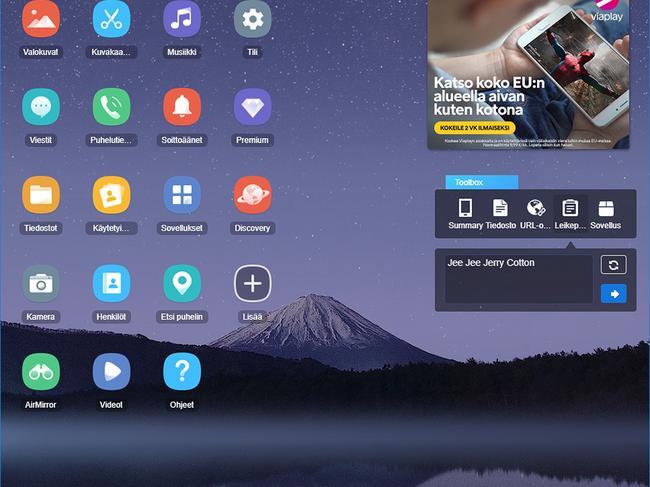 Tekstiviestien Siirto Android