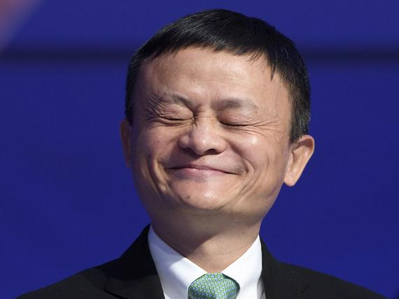 Alibaban toimitusjohtaja Jack Ma on Kiinan toiseksi rikkain mies. LAURENT  GILLIERON 278acf158a
