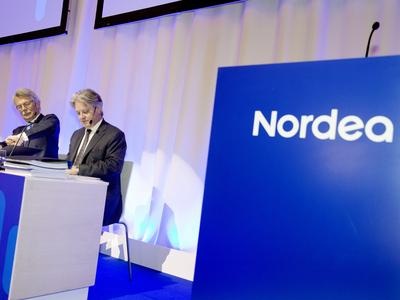 Nordean osakkeella erittäin aktiivista kaupankäyntiä – pankkiosake oli vaihdetuin, kurssin ...