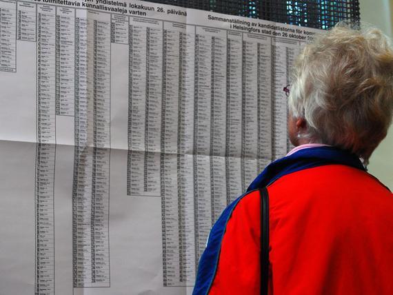 Eurovaaliehdokkaat Numerot
